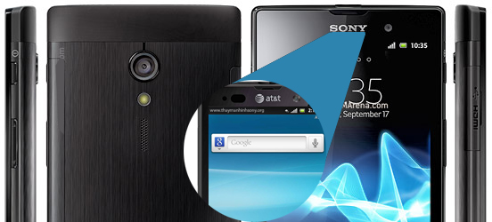Sony Xperia ion LTE LT28i & LT28AT